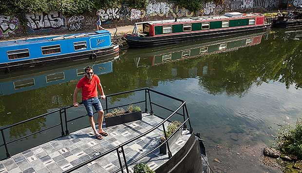 When is a house not a house? When it's an urban barge.