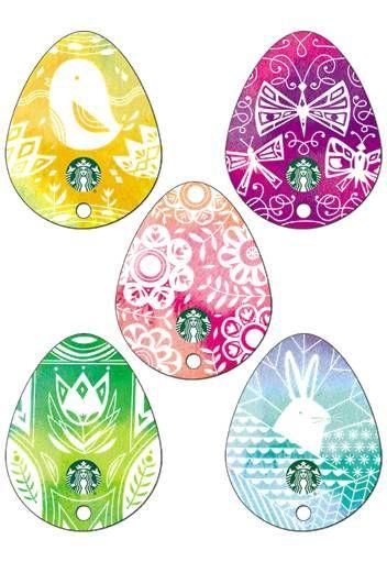 Easter egg starbucks card pinterest starbucks egg and coffee gift cards easter egg negle Gallery