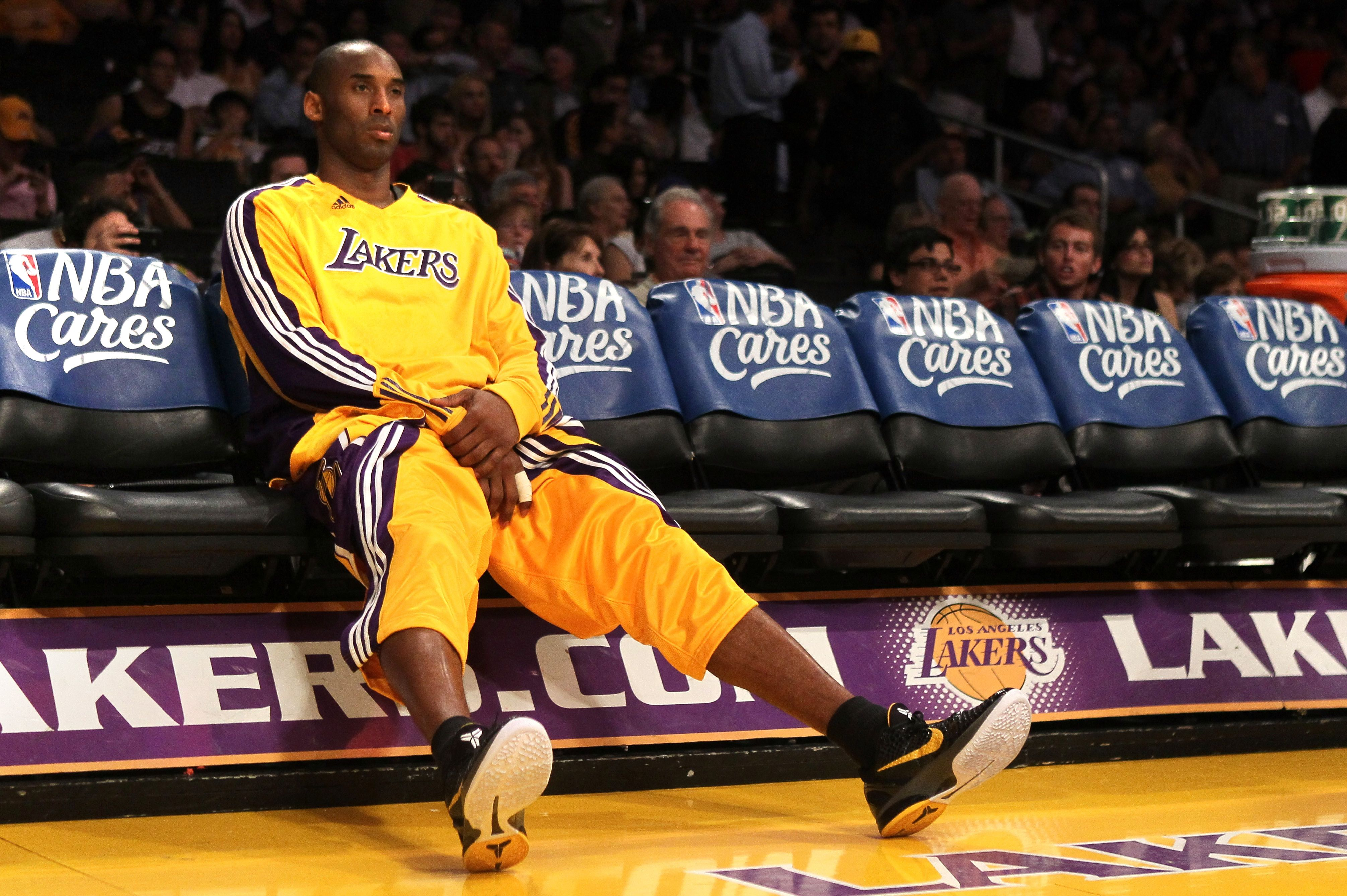 Kobe Resting Up Kobe bryant