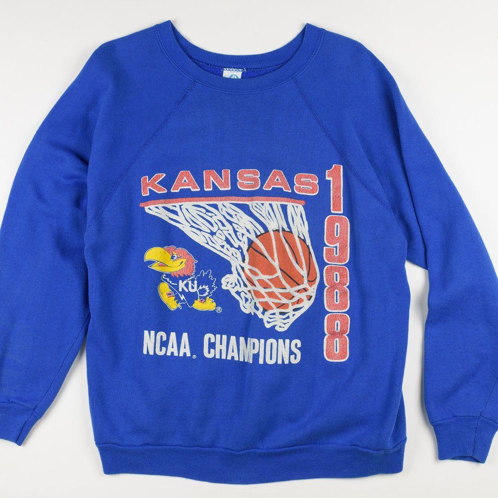 1988 Final Four Kansas Jayhawks KU Basketball NCAA Champs
