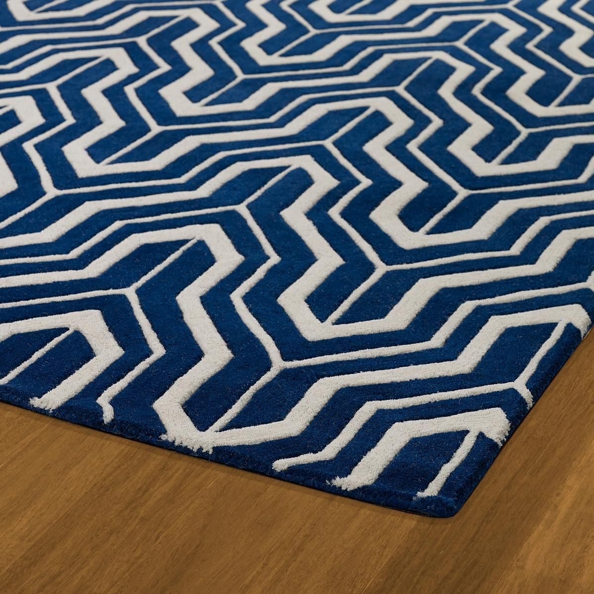 Plush Modern Geometric Rug Luxe Color Combinations Take