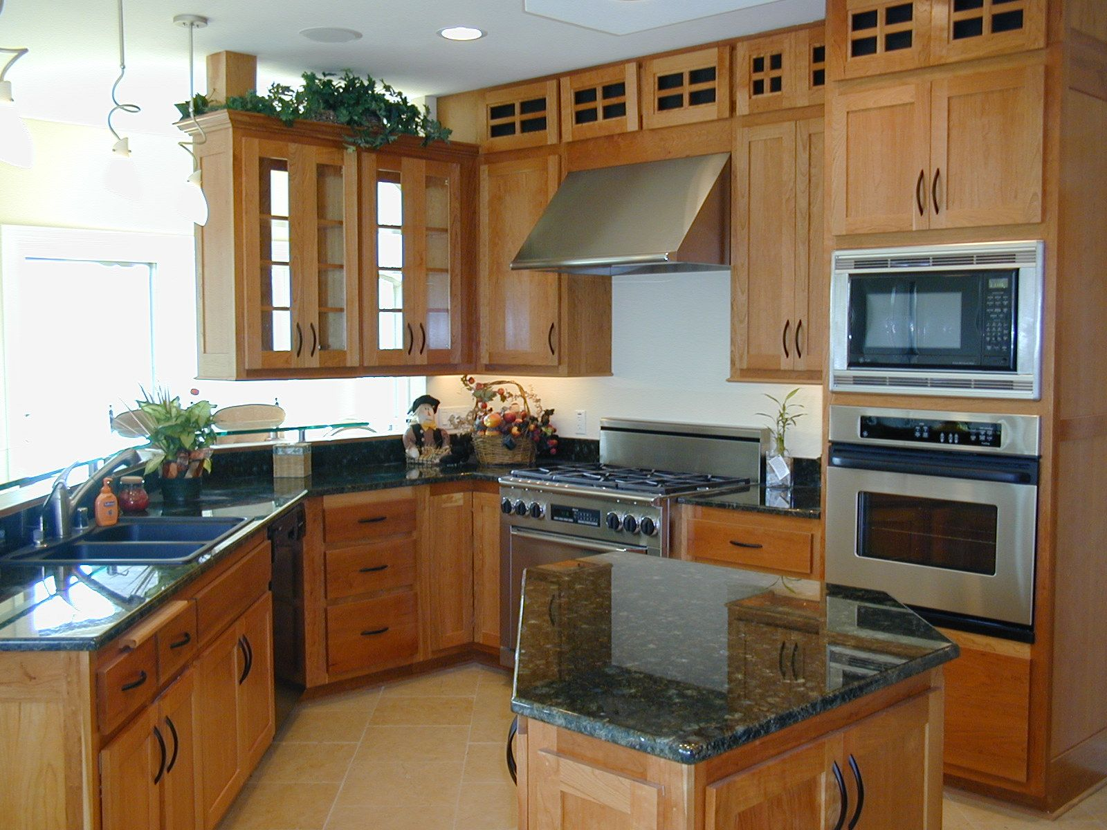 Instead of having waisted space above your cabinets, turn ...