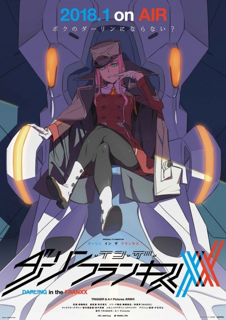 Darling in the Franxx to Air from January, New Teaser