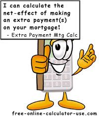 mortgage payoff with extra payment calculator
