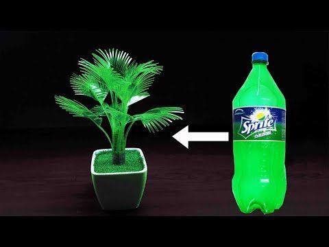 make wonderful plum tree with plastic bottle   diy home decor - YouTube