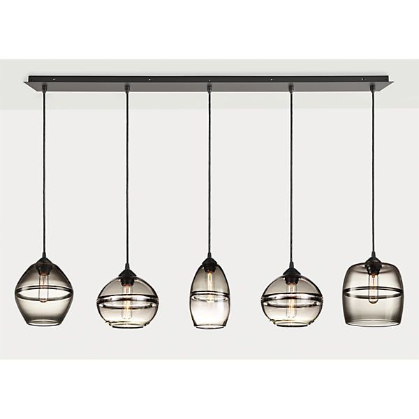 Light Pendant Set Banded horizontal pendants sets ceilings room and chandeliers audiocablefo