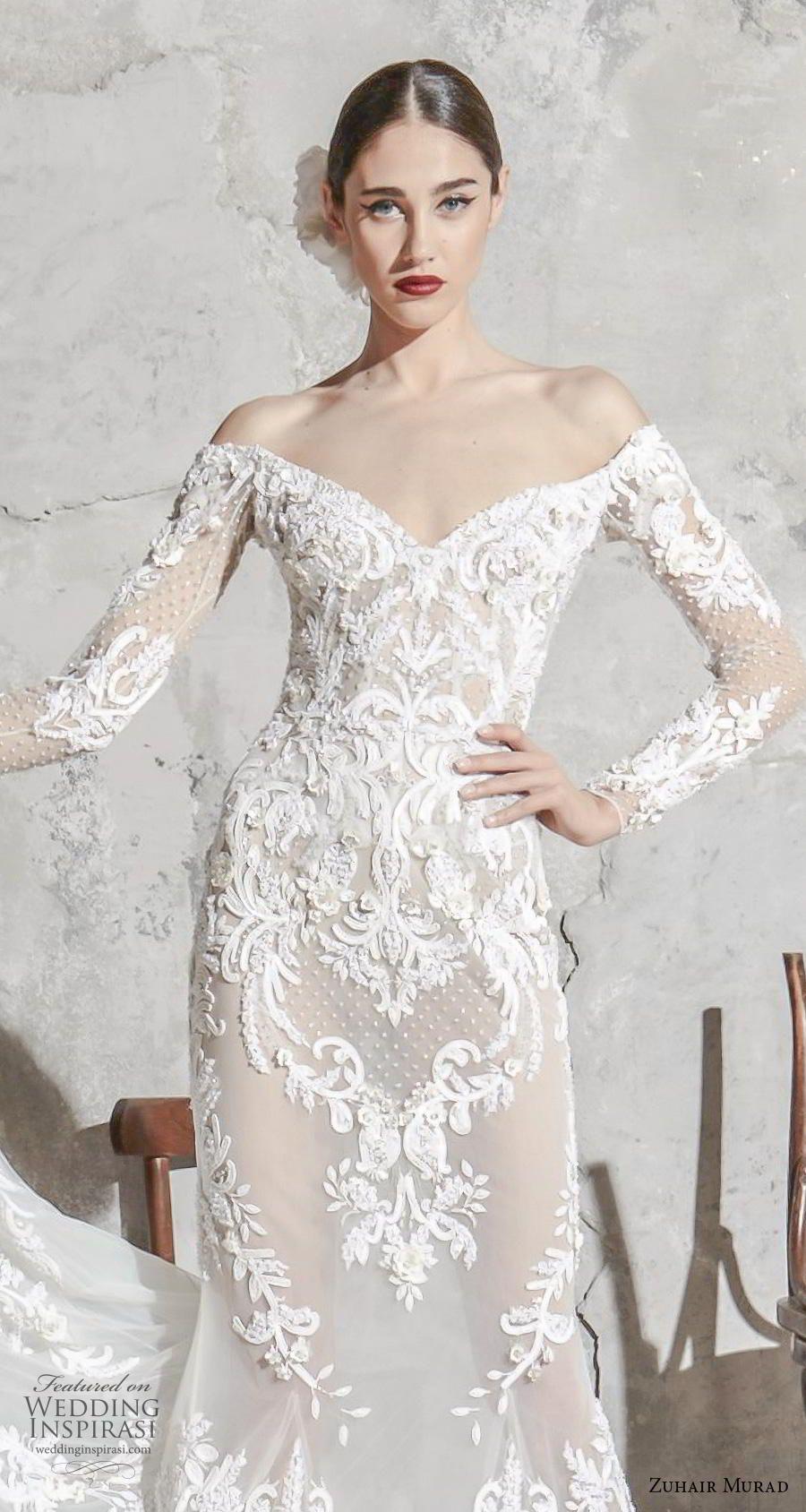 Zuhair Murad Spring 2020 Wedding Dresses Wedding Inspirasi Wedding Dresses Bridal Gown Inspiration Backless Wedding Dress [ jpg ]