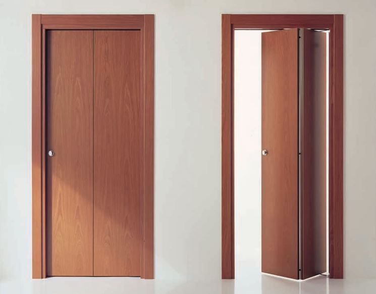 Porte a libro economiche interni pinterest porte for Porte scorrevoli esterno muro economiche