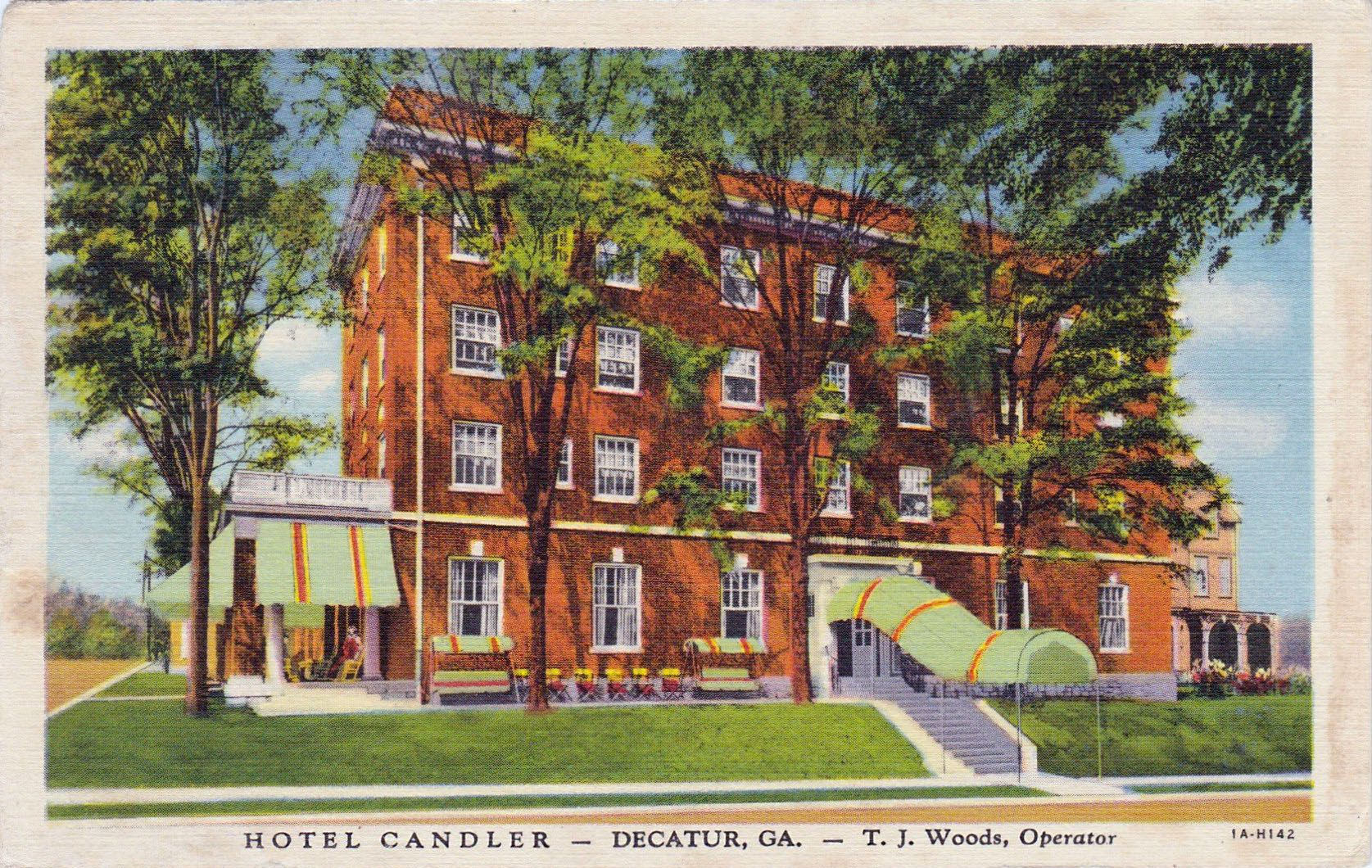Candler Hotel Ponce De Leon Ave At Church St Decatur Ga