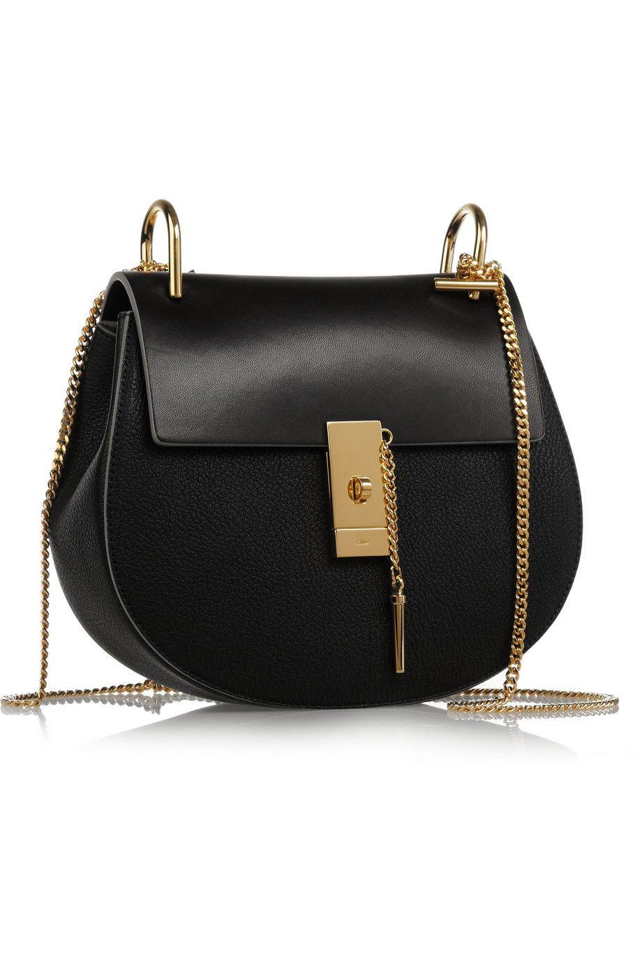 Chloé | Drew leather shoulder bag | NET-A-PORTER.COM