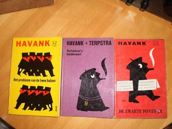 Dick Bruna Illustration Book Covers set of 3 havank by PurePopulus, $10.00