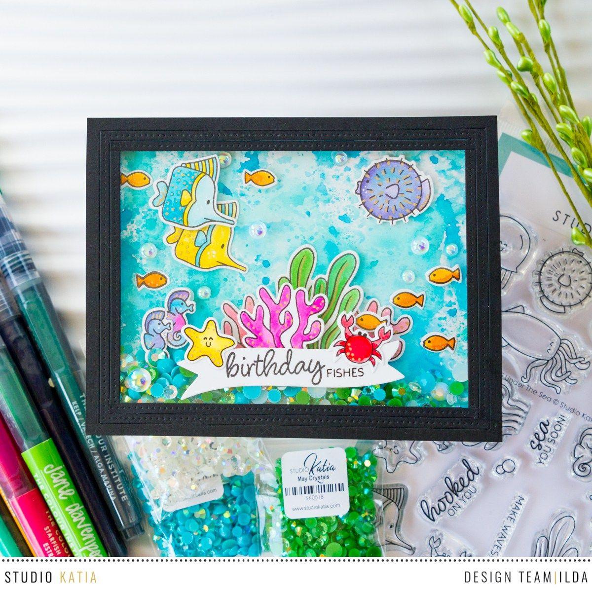 Studio katia u design blog ocean cards in pinterest