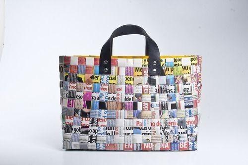 9d3923417 carteras con material reciclable - Buscar con Google | Reciclaje ...