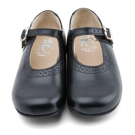 School shoes, Black leather, Shoes