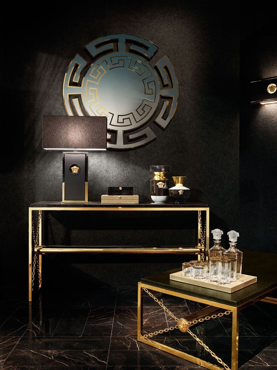 Fantastic Versace Office Furniture  Versace home, Versace