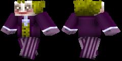 Joker Minecraft Skin Download Httpwwwminecraftskindownloadcom - Skins para minecraft pe joker