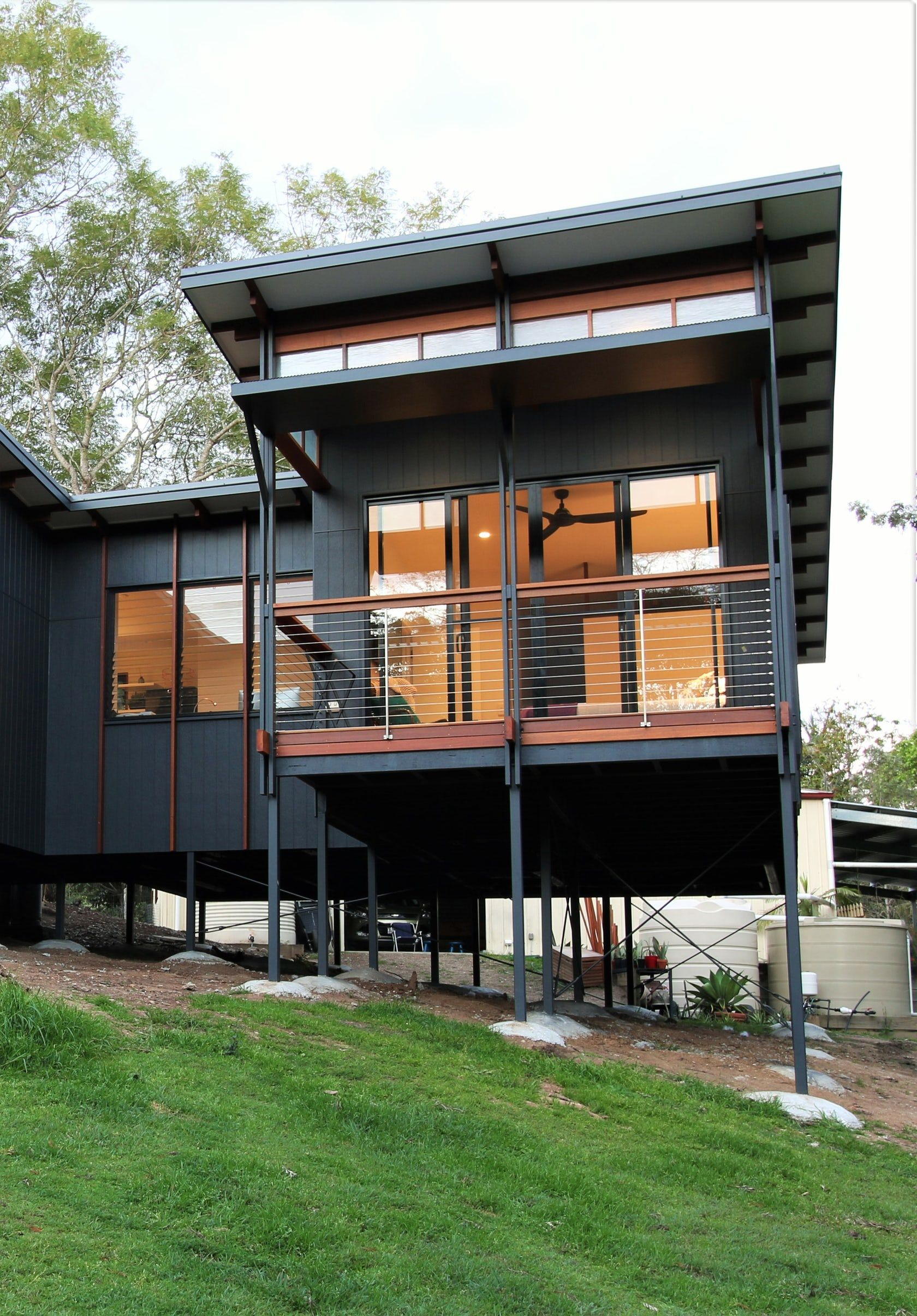 This Modern Tropical Home is a Granny Flat for a Hip ...
