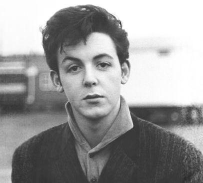 Paul The Teddy Boy The Beatles Paul Mccartney Beatles John
