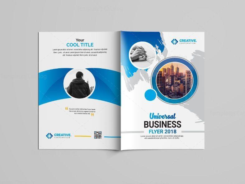 Blue Bi Fold Brochure Design 002773 Template Catalog Brochure Design Brochure Design Template Bi Fold Brochure