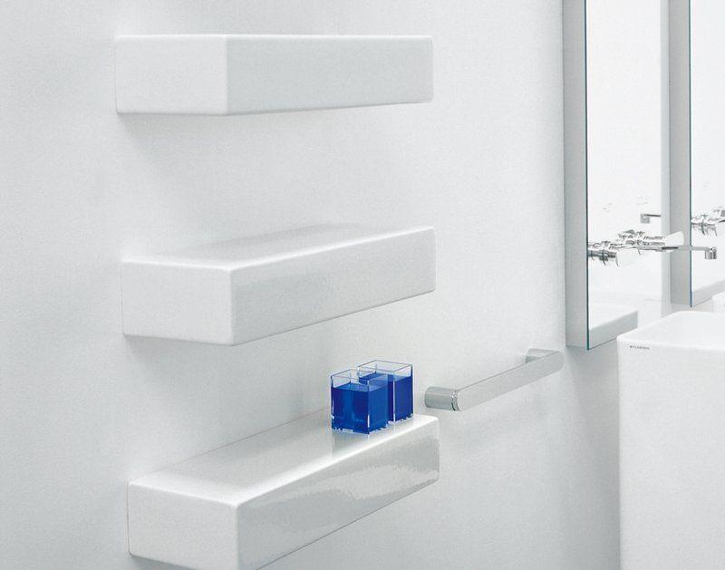 Flaminia Brick, wit planchet. Italiaans design! Maak je badkamer af ...
