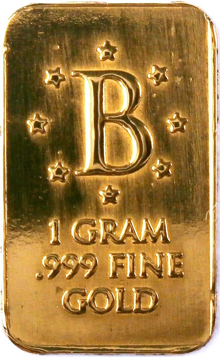 Gold 1 Gram 24k Pure Benchmark