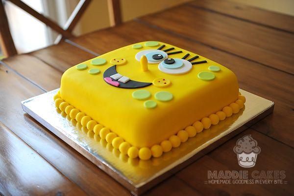 Maddie Cakes Spongebob Birthday Cake Cakes to love Pinterest