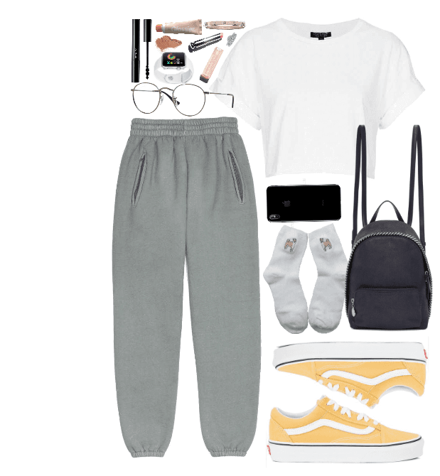 I'm in town    Casual Outfit #polyvore #collegeoutfits