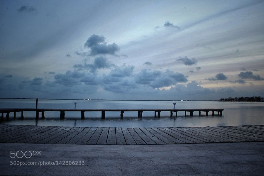 Popular on 500px : Twilight at the lagoon Nichupté In Cancun Mexico by RCVH