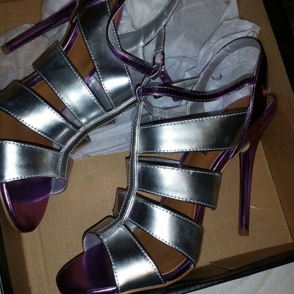 Nasty Gal heels Never worn Nasty Gal Shoes Heels