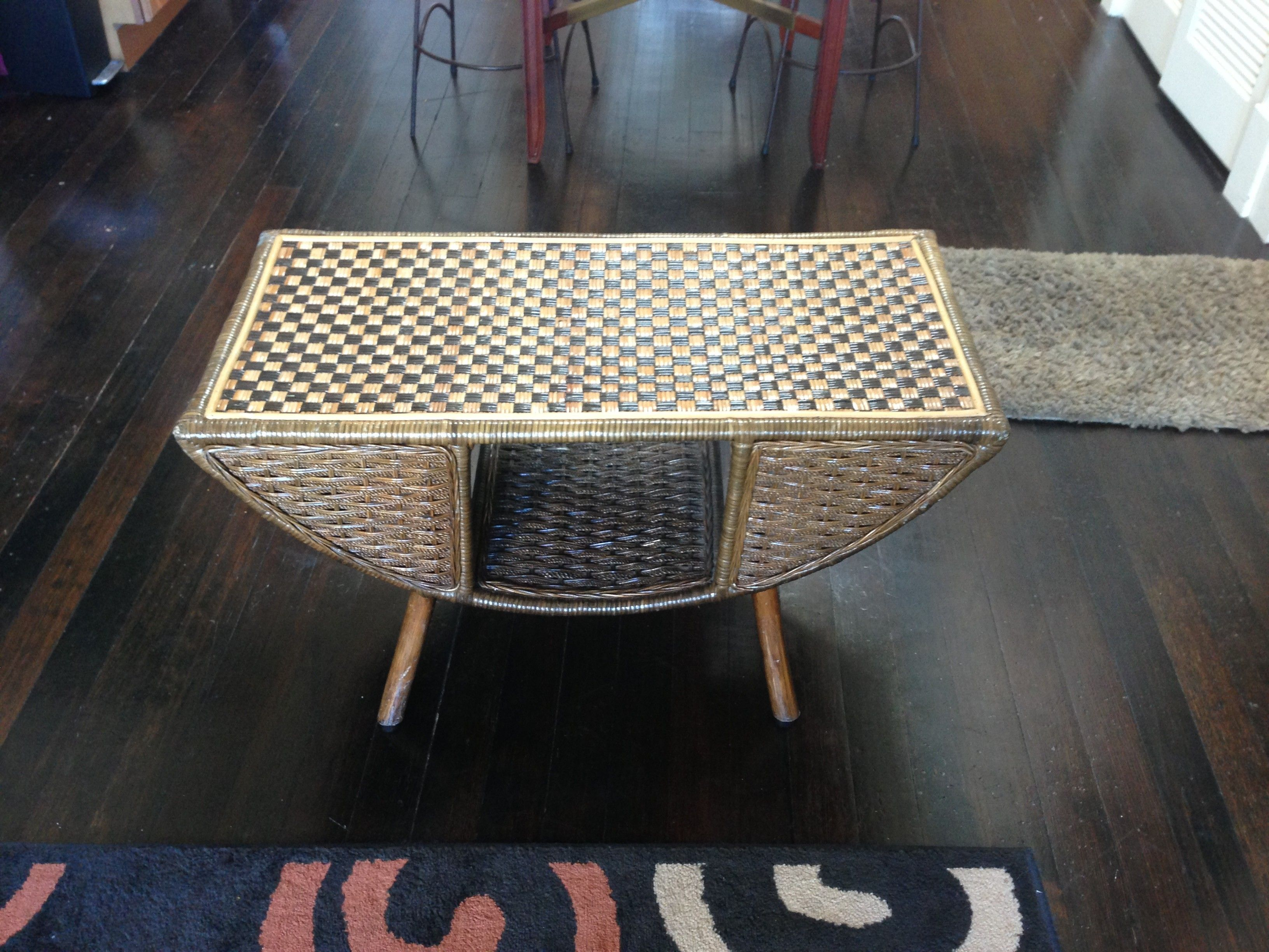 Woven Wicker Coffee Table $45 San Francisco