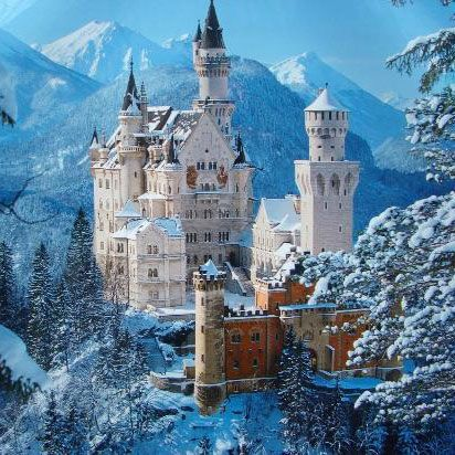 10 virkelige steder, der ligner noget fra et eventyr