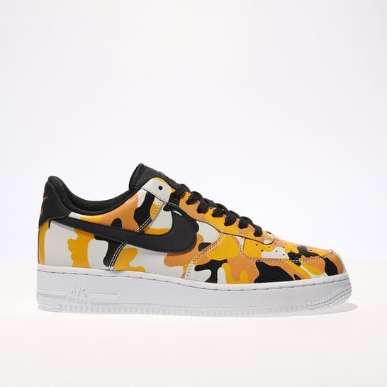 low cost 13428 0e448 mens orange nike air force 1 07 trainers   schuh