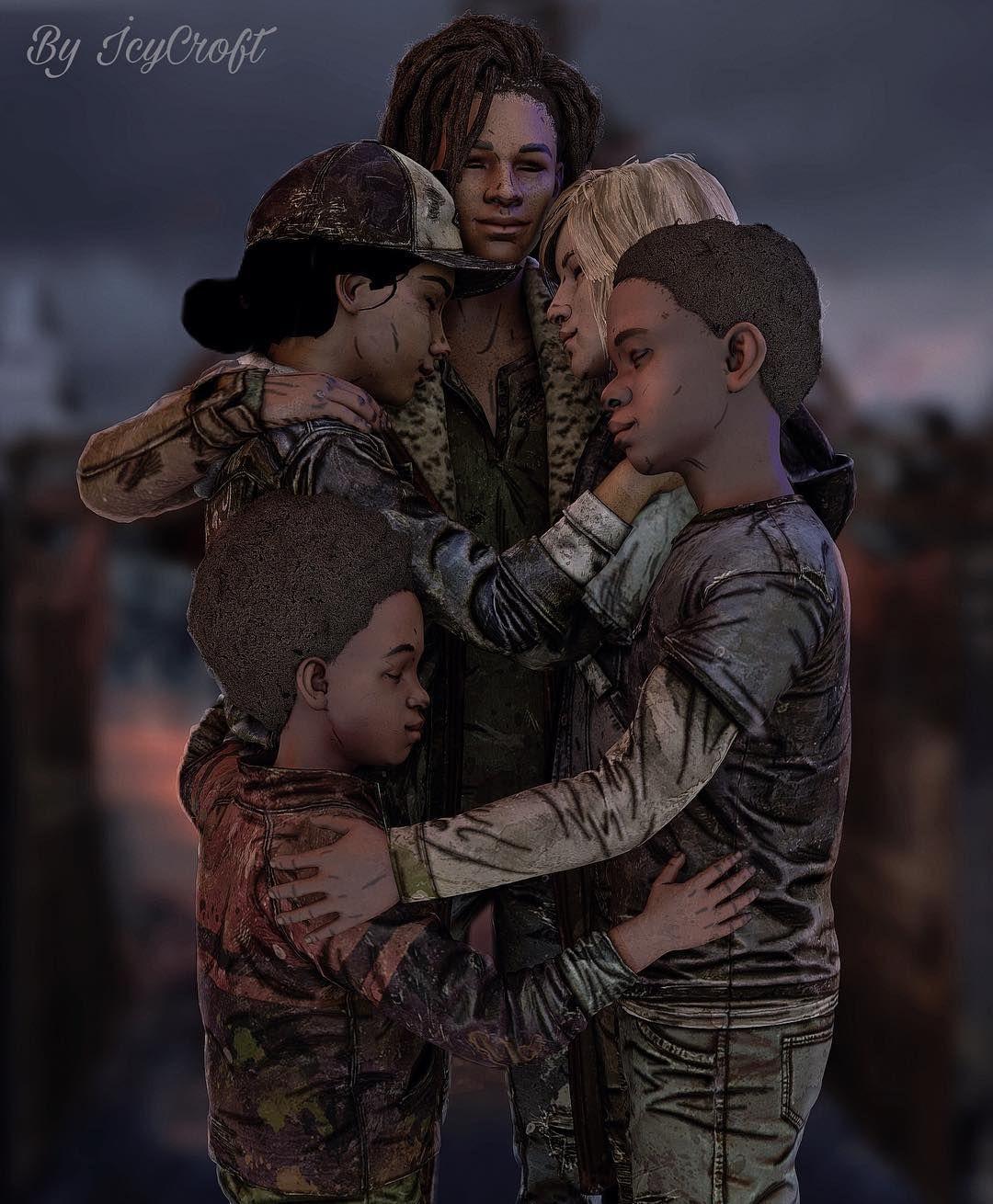Together Twd Thewalkingdead Thewalkingdeadfinalseason Violet Violentine Tenn Loui Walking Dead Game The Walking Dead Telltale Clementine Walking Dead