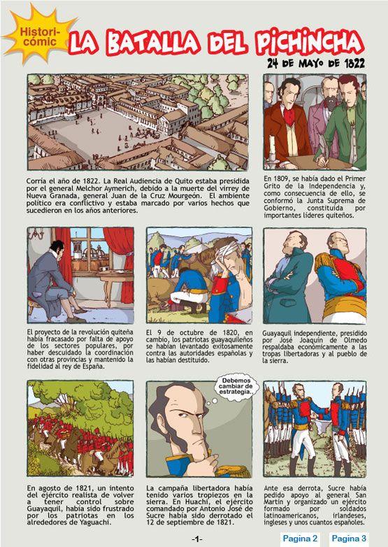 La Batalla Del Pichincha 24 De Mayo De 1822 Mis Imágenes Escolares 24 De Mayo Cuentos Infantiles Para Leer Materiales Didacticos