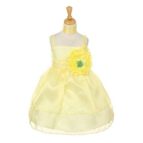 CinderellaCouture-CC1148- Lively colored crystal organza two layered dress with bows and peony flower with pin and clip (also can be used for hair corsage), Yellow Size 2 LittlePartyDresses,http://www.amazon.com/dp/B00CCYTM2O/ref=cm_sw_r_pi_dp_XzgGrb89A1EE49B2