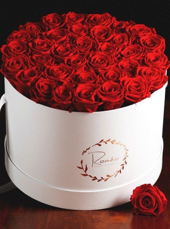 La Fatale ,des roses éternelles dans une box de luxe @romo2759