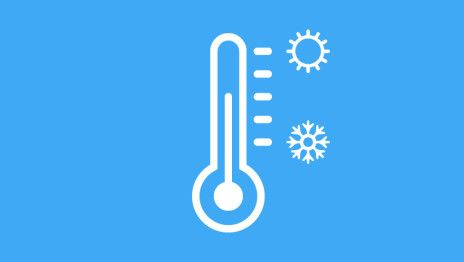 the right office temperature, thermometer, cold, hot, moderation, productivity, satisfaction
