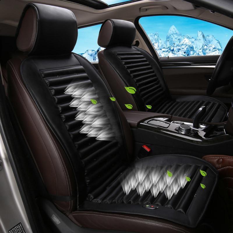 Built In Fan Ventilation Car Seat Cover Cushion For Kia Sorento Sportage Optima K5 Forte Rio K2 Cerato K3 Carens S Carseat Cover Car Seats Best Car Seat Covers