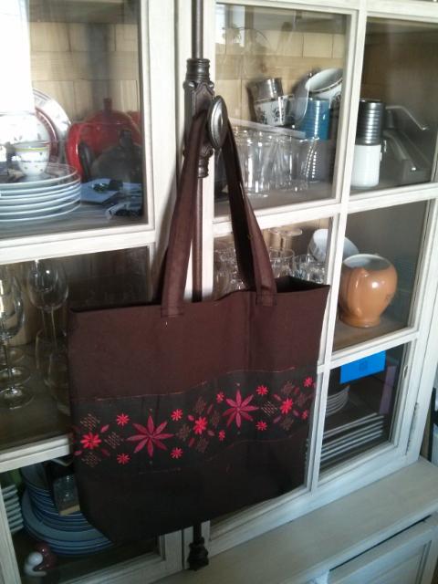 Le sac cabas Cabôtin de Delphine - Patron de couture gratuit Sacôtin.