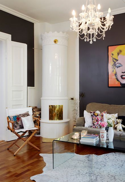 Marilyn Monroe Living Room Decor: Art + Room {a Marilyn Monroe-andy Warhol Love}