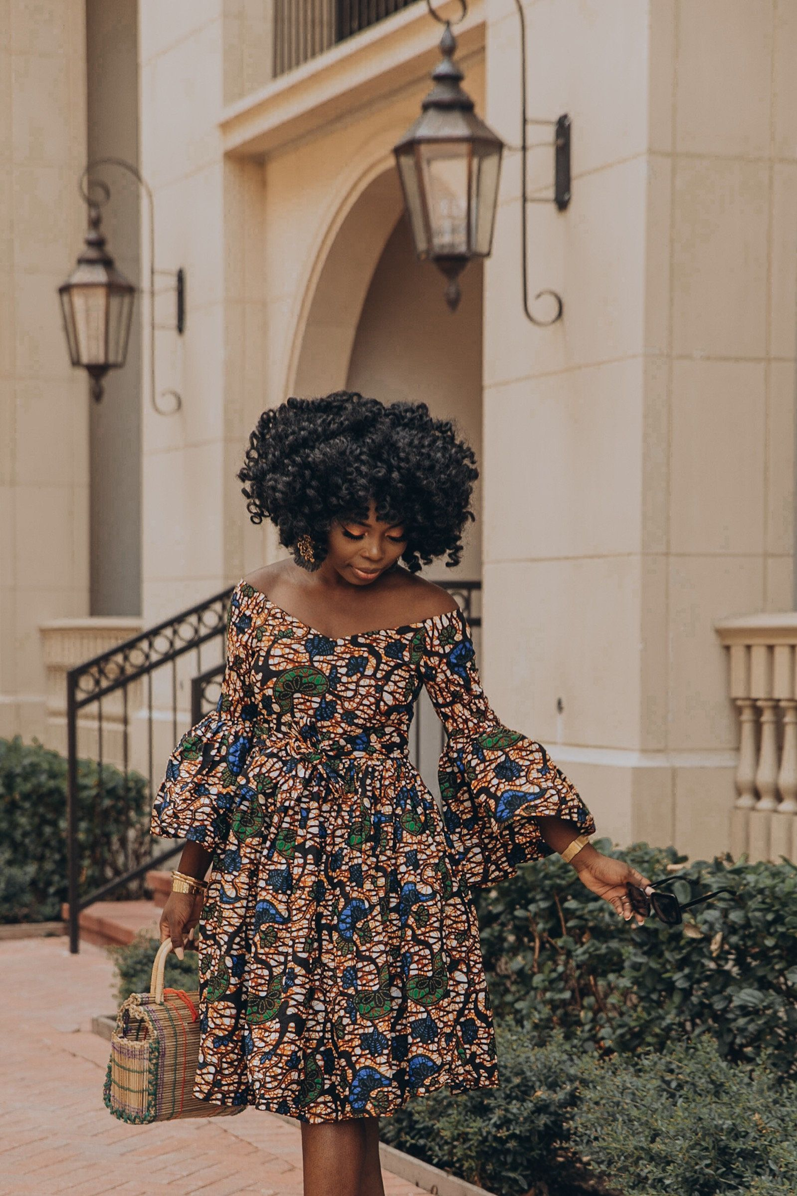 Ankara dress african clothing african dress african print dress