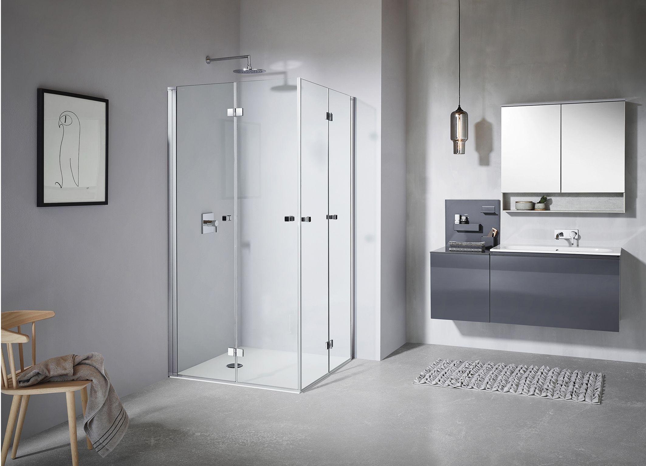 Koralle Duschabtrennungen Sl410 Und Twiggyplus Duschabtrennung Bad Design Dusche
