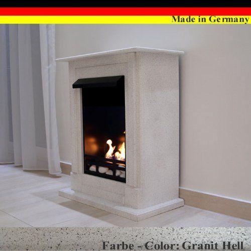Gel + Ethanol Fireplace Madrid Deluxe   Choose From 9 Colors (Granite Dark):