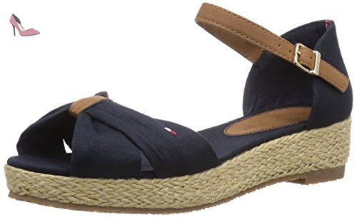 Tommy Hilfiger  SUE 11D, Sandales pour fille - Bleu - Bleu nuit (403), 31 EU - Chaussures tommy hilfiger (*Partner-Link)