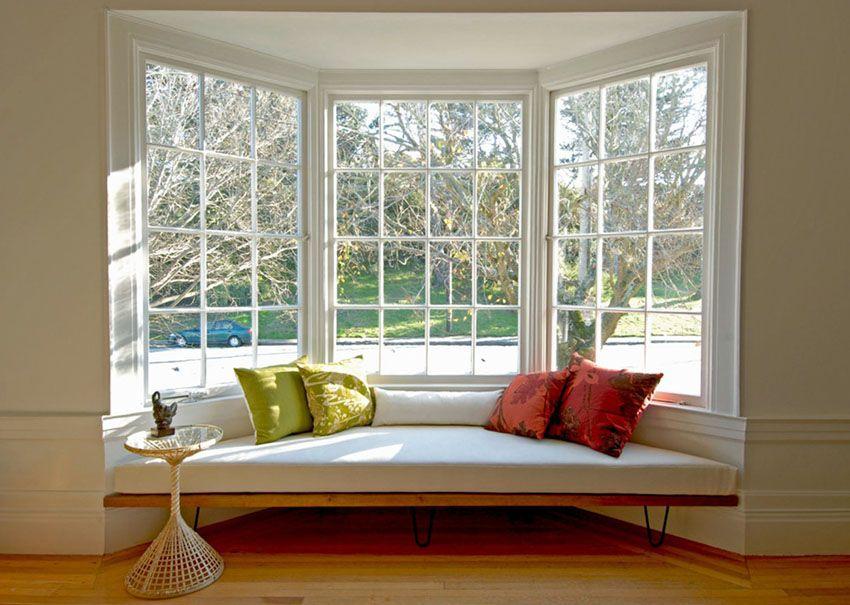 55 Window Seat Ideas Benches Storage Cushions Window Seat Design Bay Window Living Room Living Room Windows #window #seat #ideas #living #room