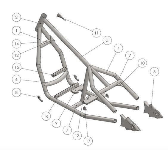 Our rigid bobber frame assembly guide which shows how to build the ...