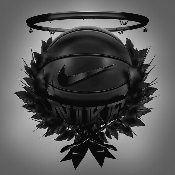 Dark Hoops Nike Istvan Szugyiczky Nike Basketball Basketball Tattoos Nike Art Nike basketball iphone wallpaper
