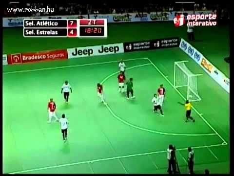 Brazilian Indoor Soccer Falcao Scored Impossible Goal