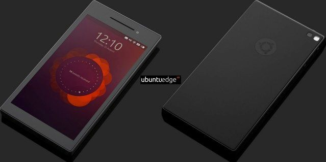 Leaked Images of the Ubuntu Edge smartphone