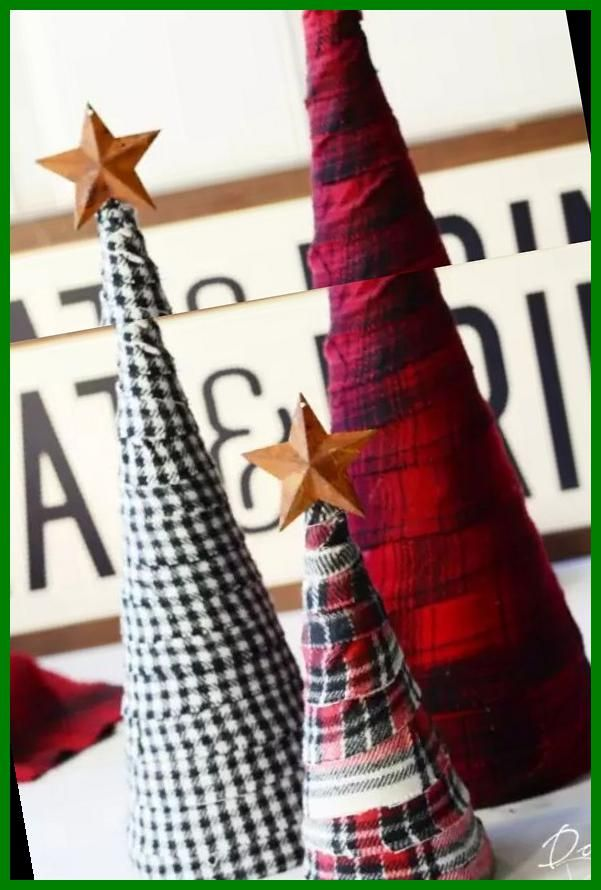 Photo of DIY Buffalo Plaid Christmas Decor Ideas You Can Make on a Budget 36+ | christmas crafts diy | 2